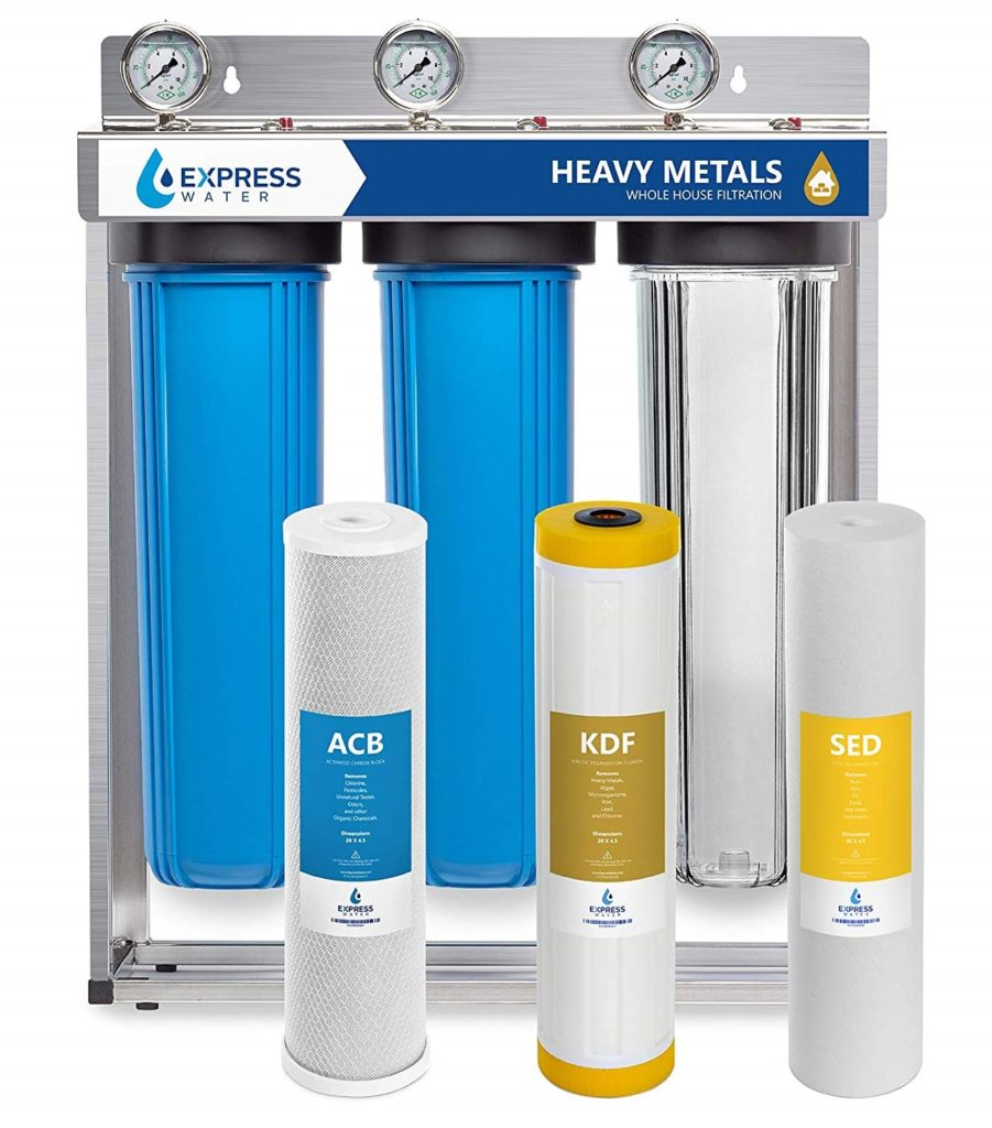 Express Water 3 Stage Whole House Water Filter