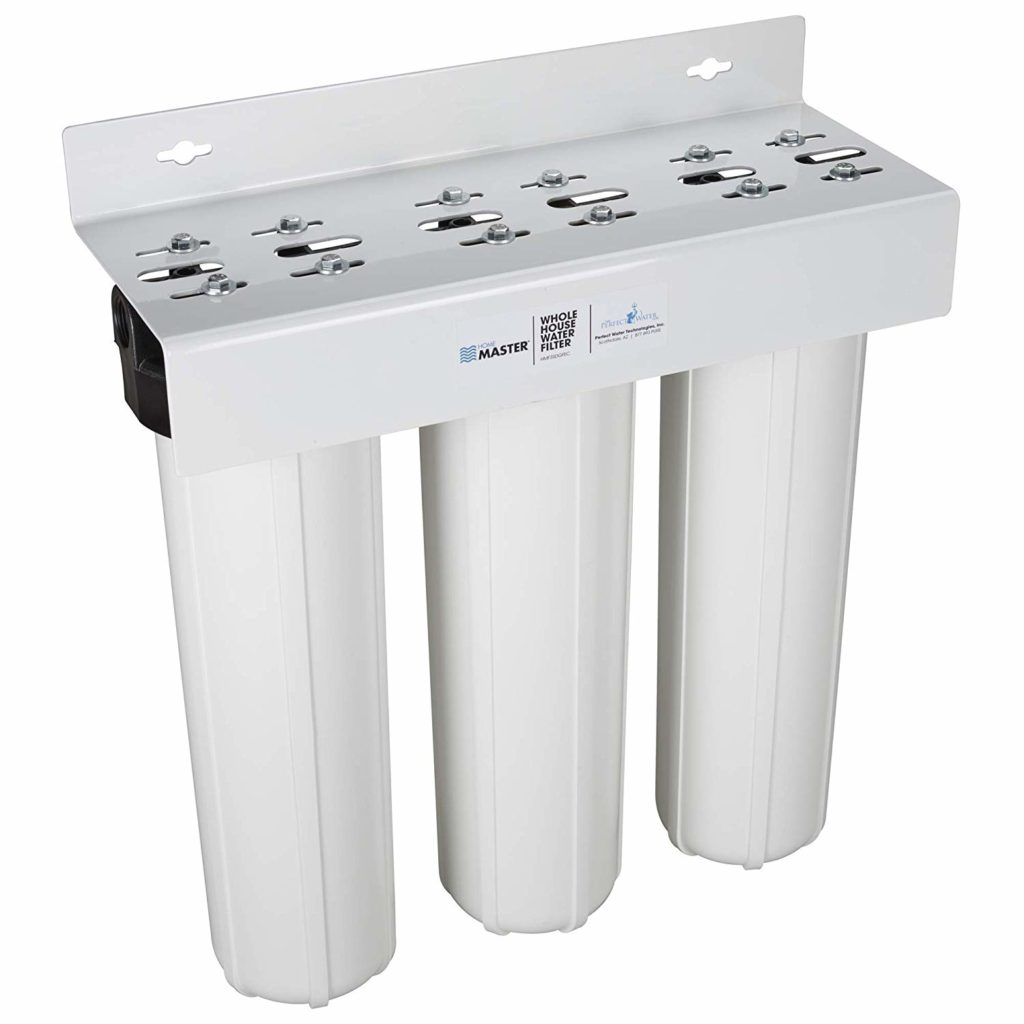 Home Master 3-Stage Whole House Water Filtration System