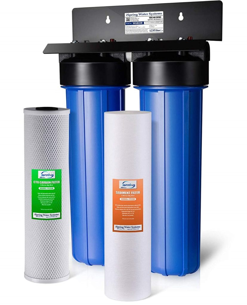 iSpring WGB22B 2-Stage Whole House Water Filter System