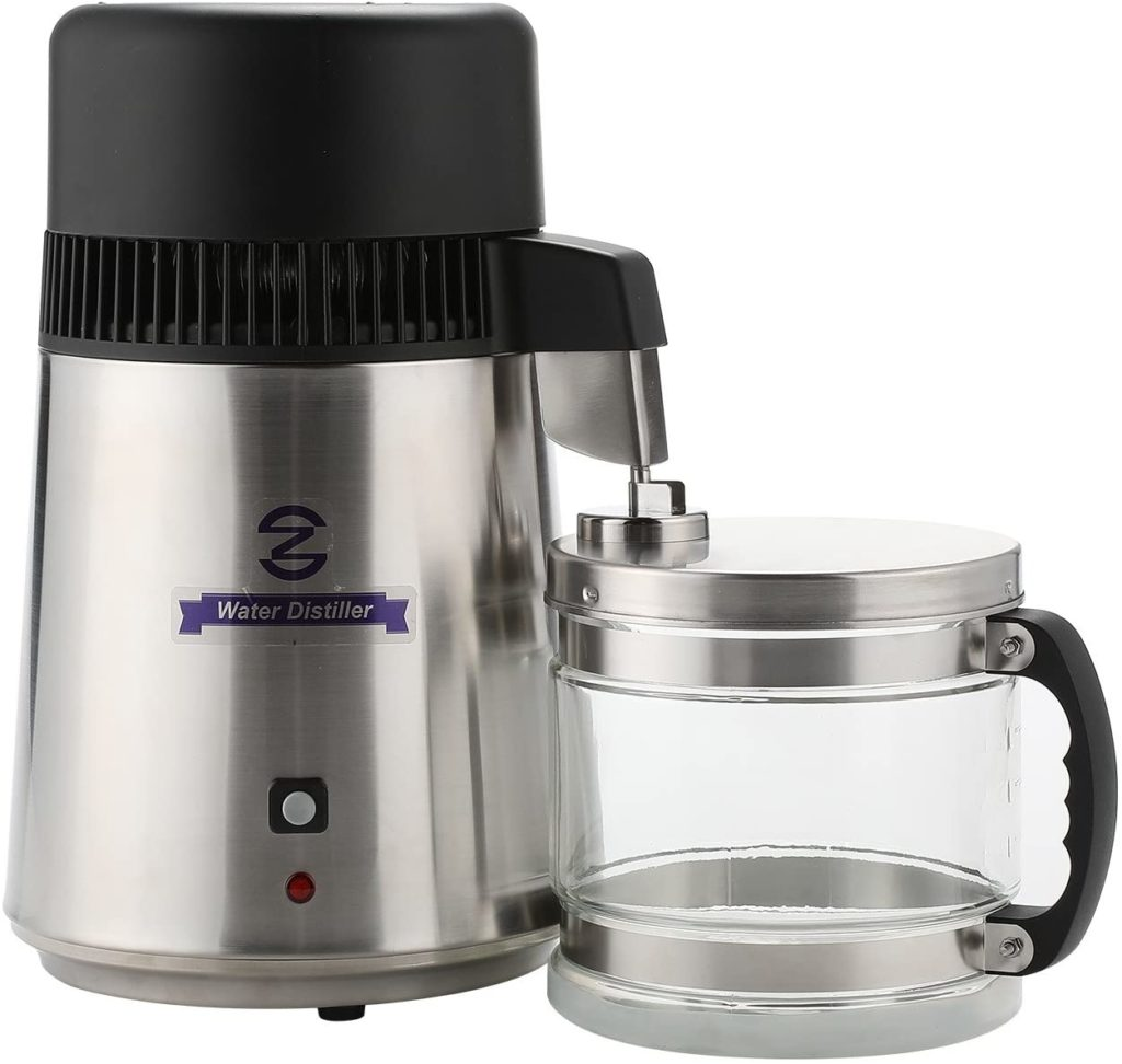 CO-Z Water Distiller with stainless steel body