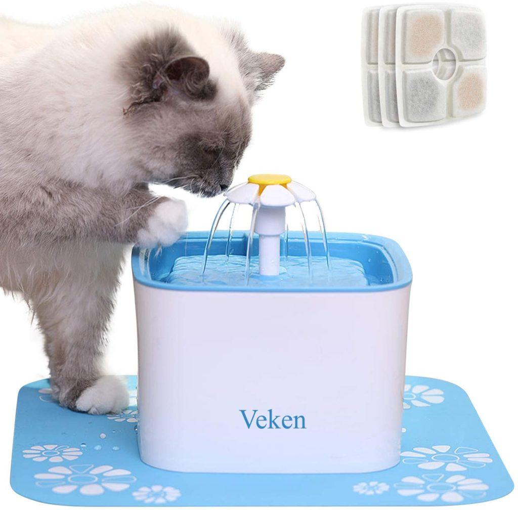 Veken Cat Water Fountain
