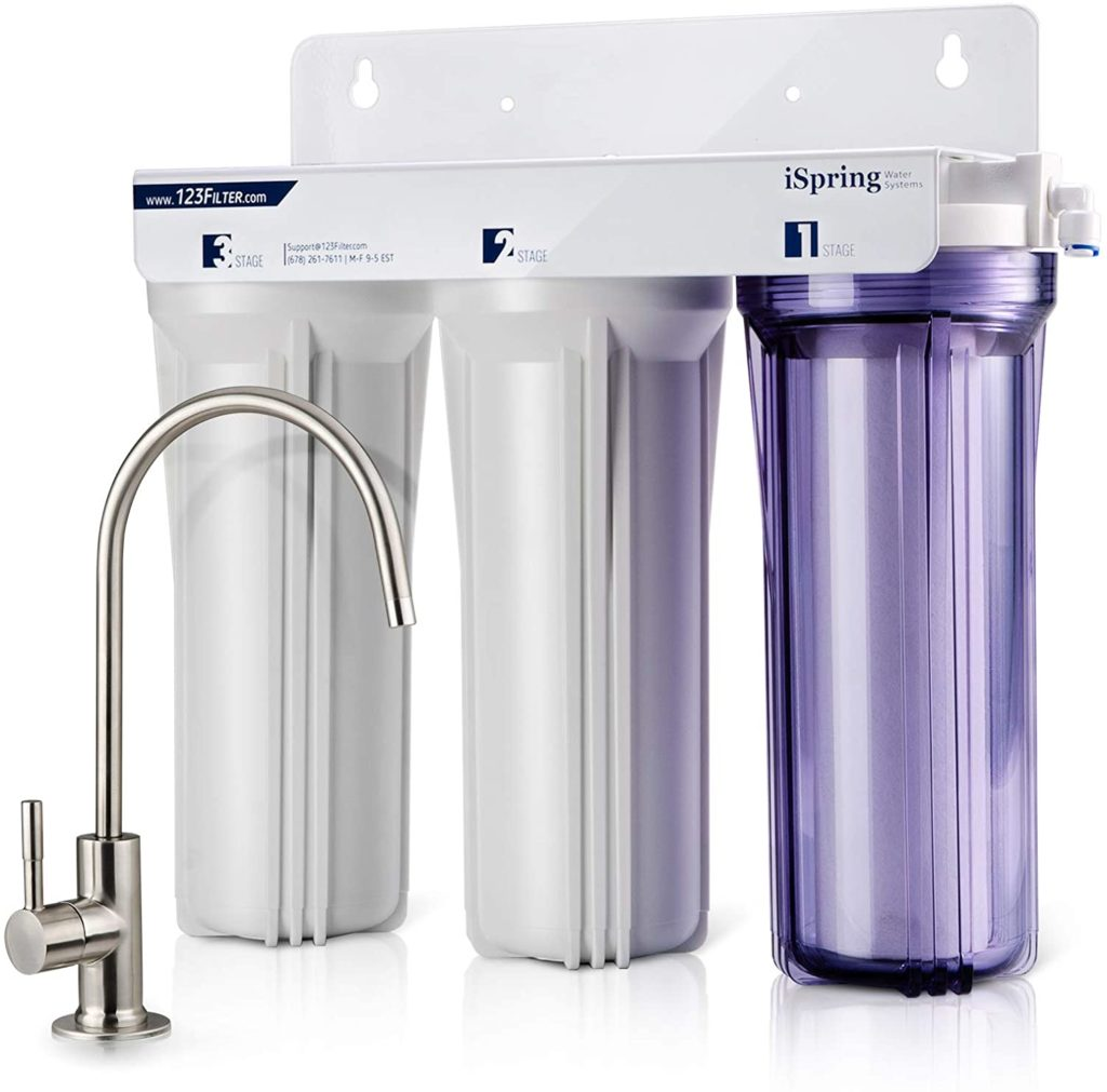 iSpring 3 Stage Under Sink Water Filter