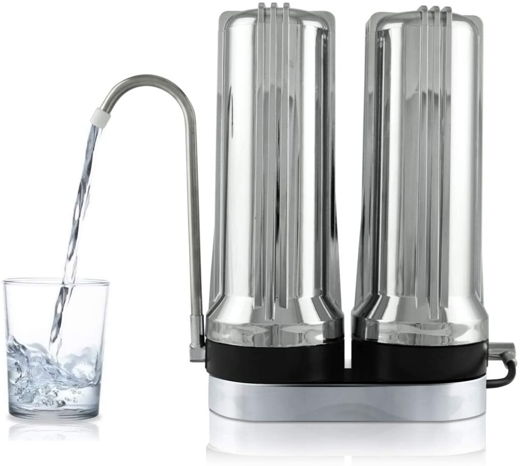 APEX EXPRT MR-2050 Dual Counter Top Water Filter