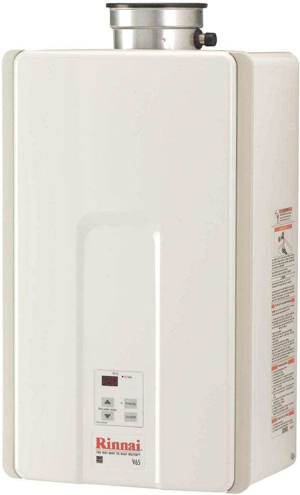 Rinnai V65IN Natural Gas Tankless Water Heater