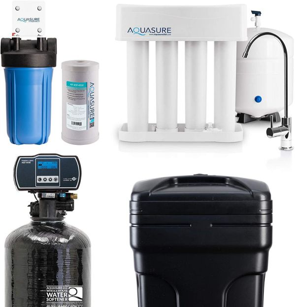 Aquasure AS-WHF48D Whole House Water Filtration Bundle