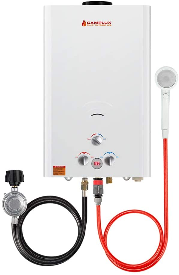 Camplux BW422LP 4.22 GPM Propane Gas Tankless Water Heater