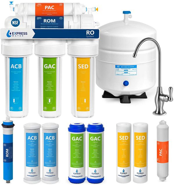 Express Water RO5DX 5 Stage Reverse Osmosis Filtration System