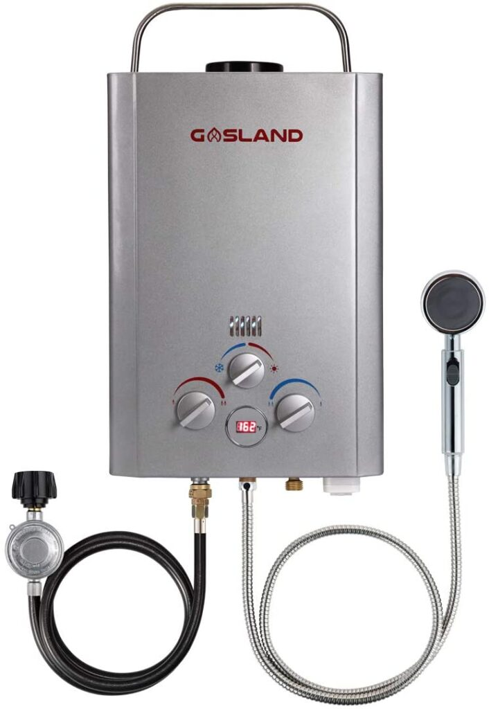 GASLAND BE158S 6L Portable Propane Water Heater