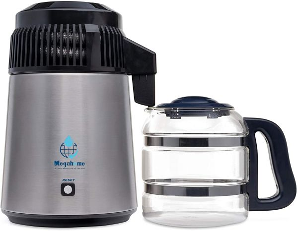 Megahome MH943SBSGBOT Countertop Water Distiller