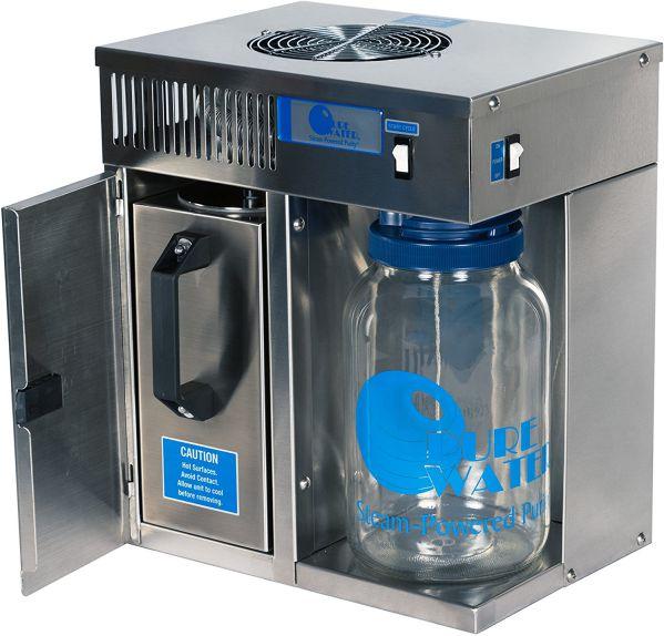Pure Water 46998 120V Countertop Water Distiller