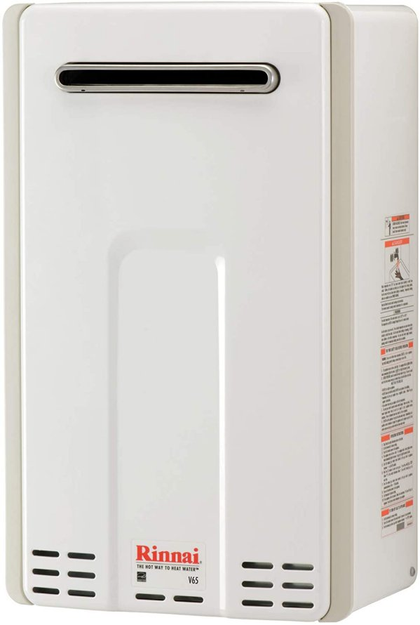 Rinnai V65EP Outdoor Propane Tankless Hot Water Heater