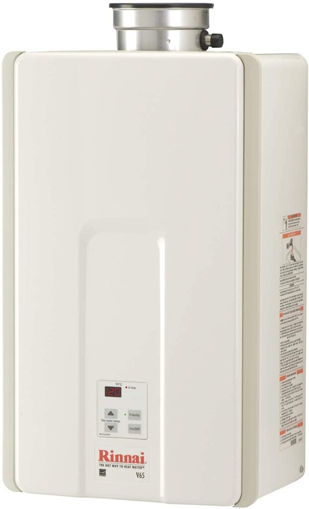 Rinnai V65IP Indoor Propane Tankless Water Heater