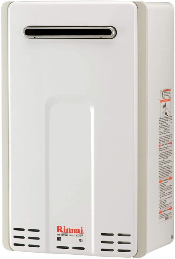 Rinnai V65eP Outdoor Tankless Propane Water Heater