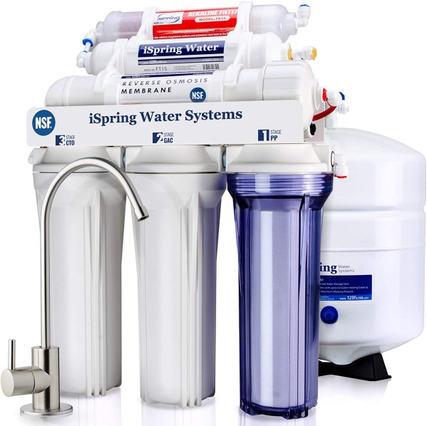 iSpring RCC7AK-UV 7-Stage RO Filtration System with UV Filter