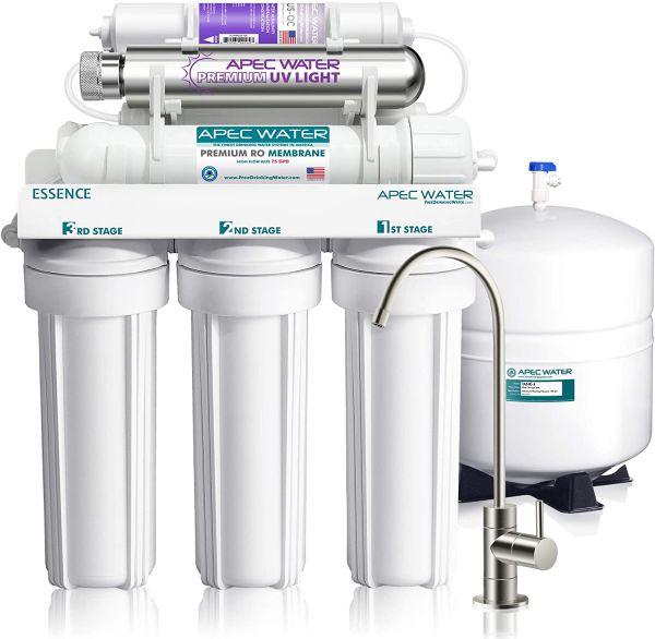 APEC ROES-PHUV75 RO & UV Sterilizer Filter System