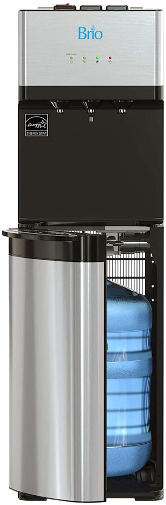 Brio CLBL520SC Bottom Loading Water Cooler Water Dispenser