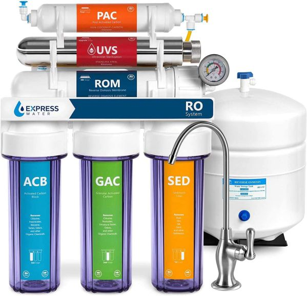 Express Water ROUV10DCG Ultraviolet Water Filtration System