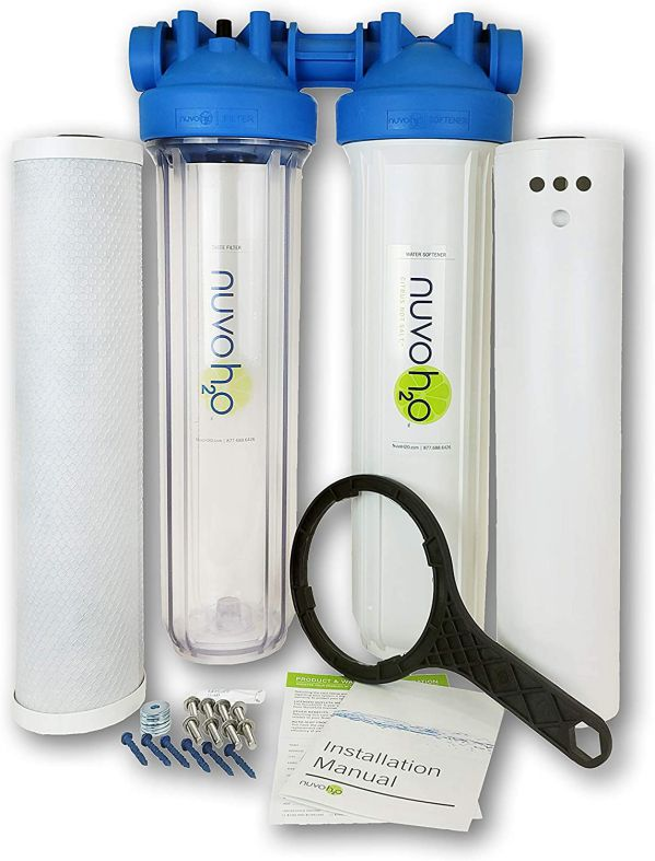 Nuvo H2O Whole House Salt-Free Water Softener System