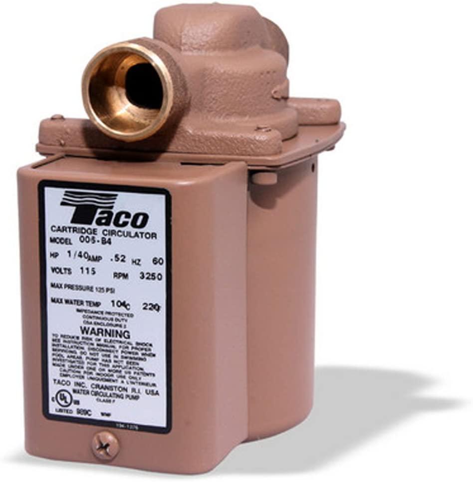 Taco 006-B4 Hot Water Circulator Pump