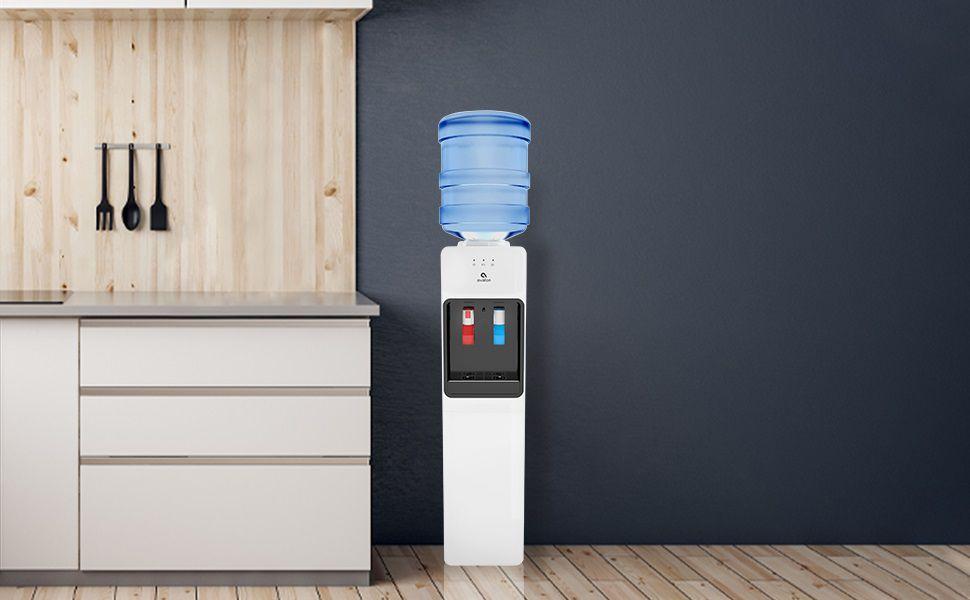 Water cooler dispenser guide