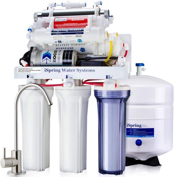 iSpring RCC1UP-AK 7-Stage RO UV Filtration System